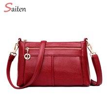 Fashion Women Double Shoulder Strap Bag PU Leather Handbags PU Shoulder Bag High Quality Crossbody Bags for Women Bolsa Feminina стоимость