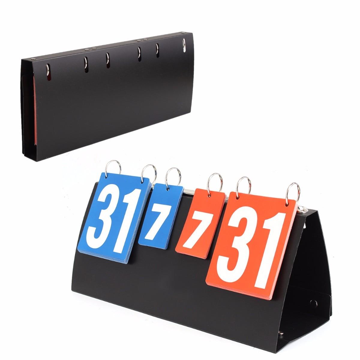 Portable basketball Score Board Sports Scoreboard For Volleyball Table Tennis Handball Badminton Scoring Wholesale