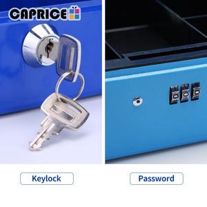 Image 5 - セキュリティ銀行金庫貯金箱銀行預金マネーボックスパスワードキーロック秘密化粧箱ホームデコレーションサイズ M TH