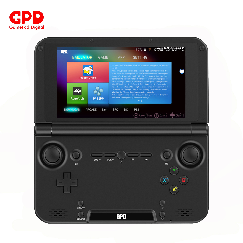 GPD XD PLUS 5 Inch Android7.0 Gamepad Tablet 4GB/32GB MTK8176 SIX Core 2.1GHz Handled Game Console H-IPS 1280*720 Game Player