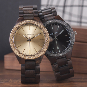 Image 2 - BOBO BIRD Wooden Men Watches erkek kol saati Quartz Handmade Unique Casual Wristwatches Gifts Timepieces Drop Shipping V P05