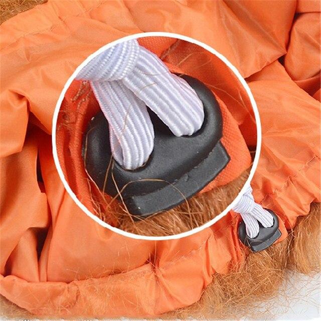 Zabawny duży pies kapelusz kostium lwia grzywa peruka odzież dla psa boże narodzenie dla zwierzaka na halloween element ubioru z uszami lub bez uszu kostium