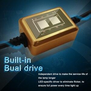 Image 3 - LED H7 H4 H8 H9 H11 9005 HB3 9006 HB4 LED Koplamp Auto Licht COB Chips Heldere Automobile Koplamp 8000LM 12 V 80 W 6000 K