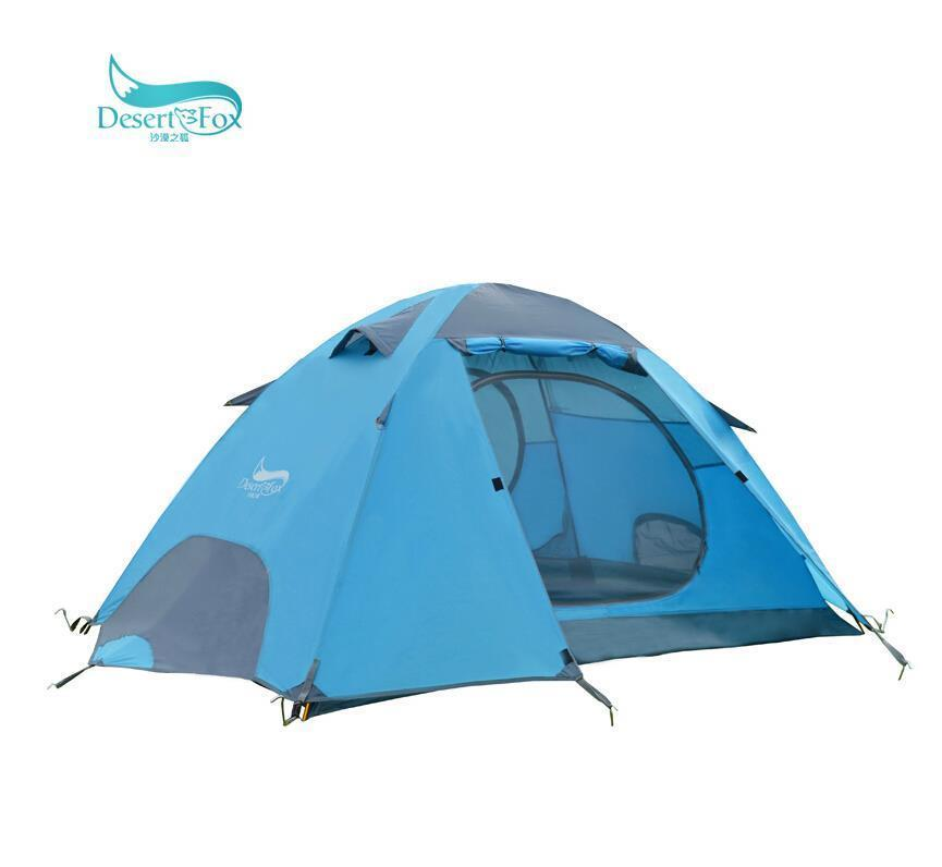 Outdoor Tourist Travel 2 Person 4 Season Tent For Camping Tents Winter China Waterproof Aluminium Double Tent outdoor winter tent aluminum alloy mountaineering tourist tents ultralight camping tent 1 person