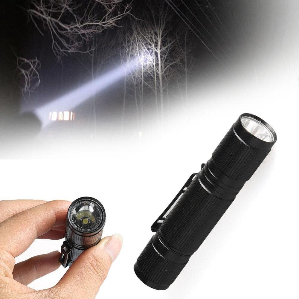 9f74dde6238 SKYWOLFEYE LED taskulamp 1200LM Mini Q5 LED taskulamp AA aku must ...