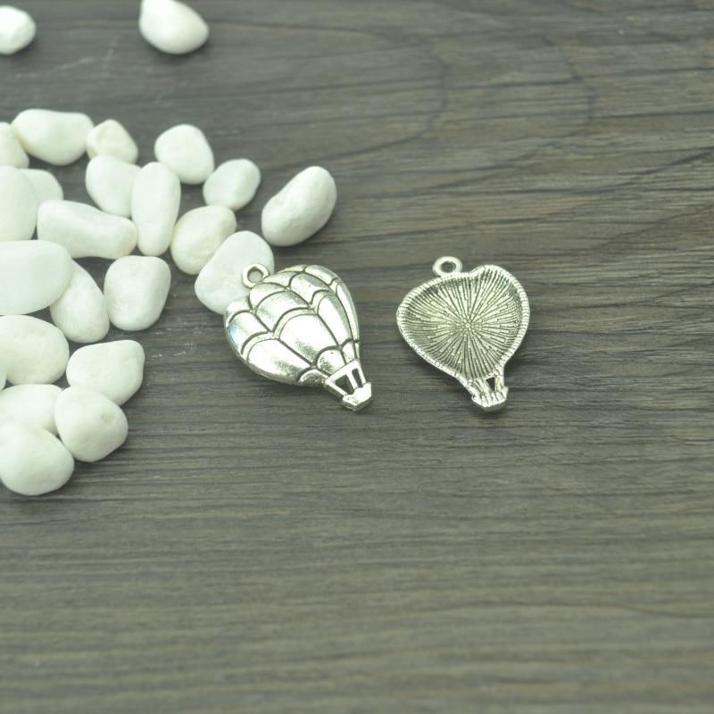 15PCS Sea Horse Necklace Pendeant Tibet Silver Charms Pendants 22*9mm