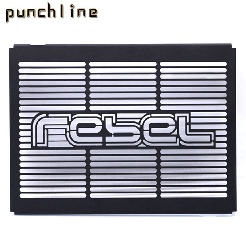 Fit For HONDA REBEL 300 REBEL 500 Motorcycle Accessories Radiator Grille Guard Cover Protector