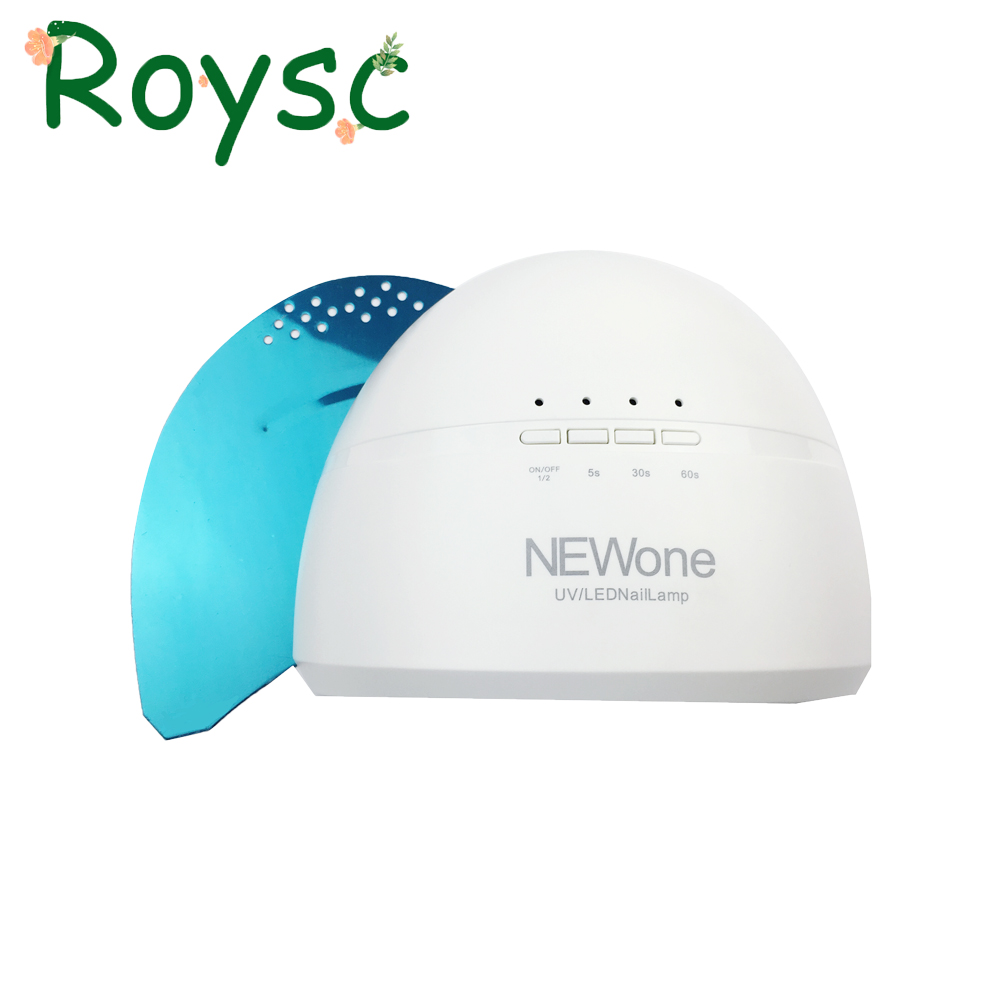48W/24W SUN NEWONE LEDUV Lamp For Nail Dryer White Light Nail lamp Fast Gel Nail Polish Dryer Curing Nail Art For Salon Tools nail dryer