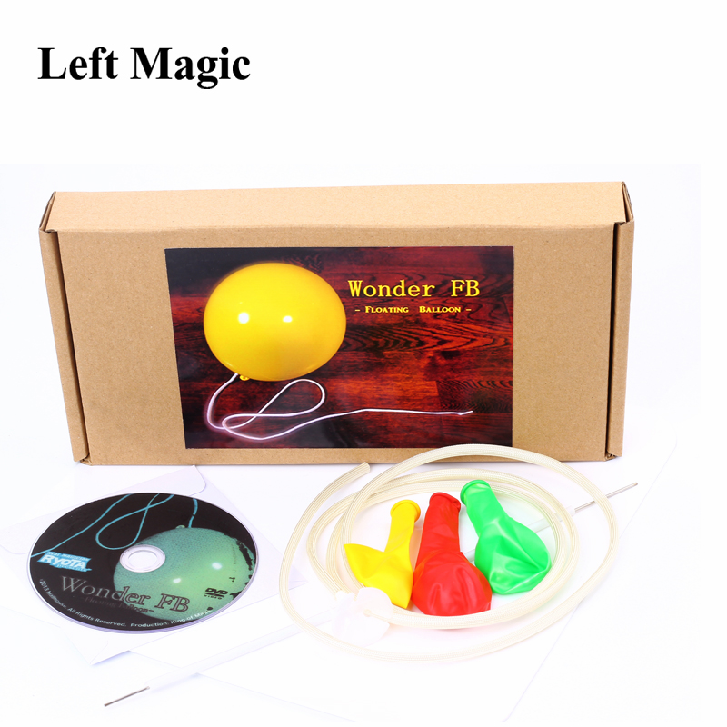 Wonder Floating Balloon By RYOTA ( DVD+GIMMICK ) - Magic Tricks FB Magic Balloon Props Stage Illusion Comedy Toys For Party signs