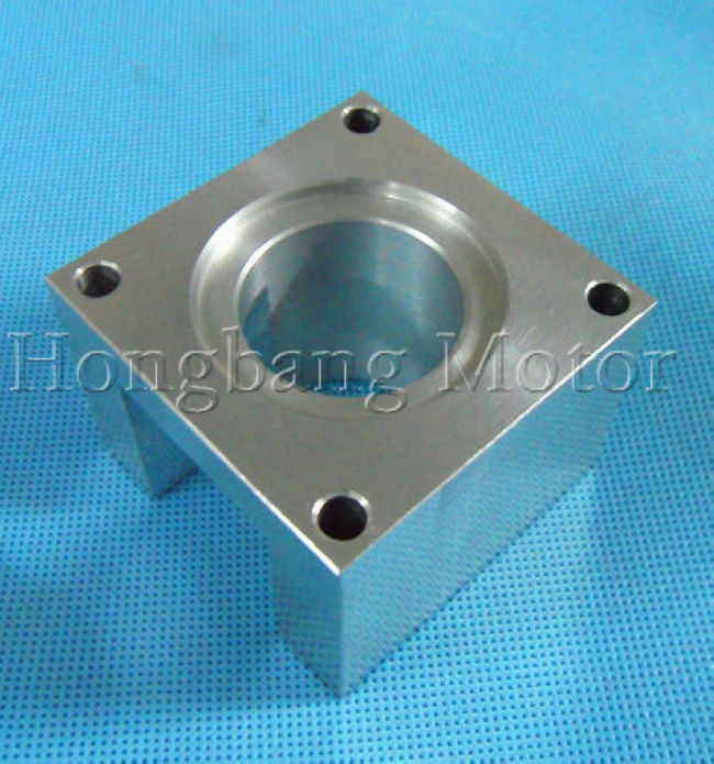 купить 4pcs/lot Free shipping NEMA 23 stepper motor mounts bracket, the installation Block по цене 5235.13 рублей