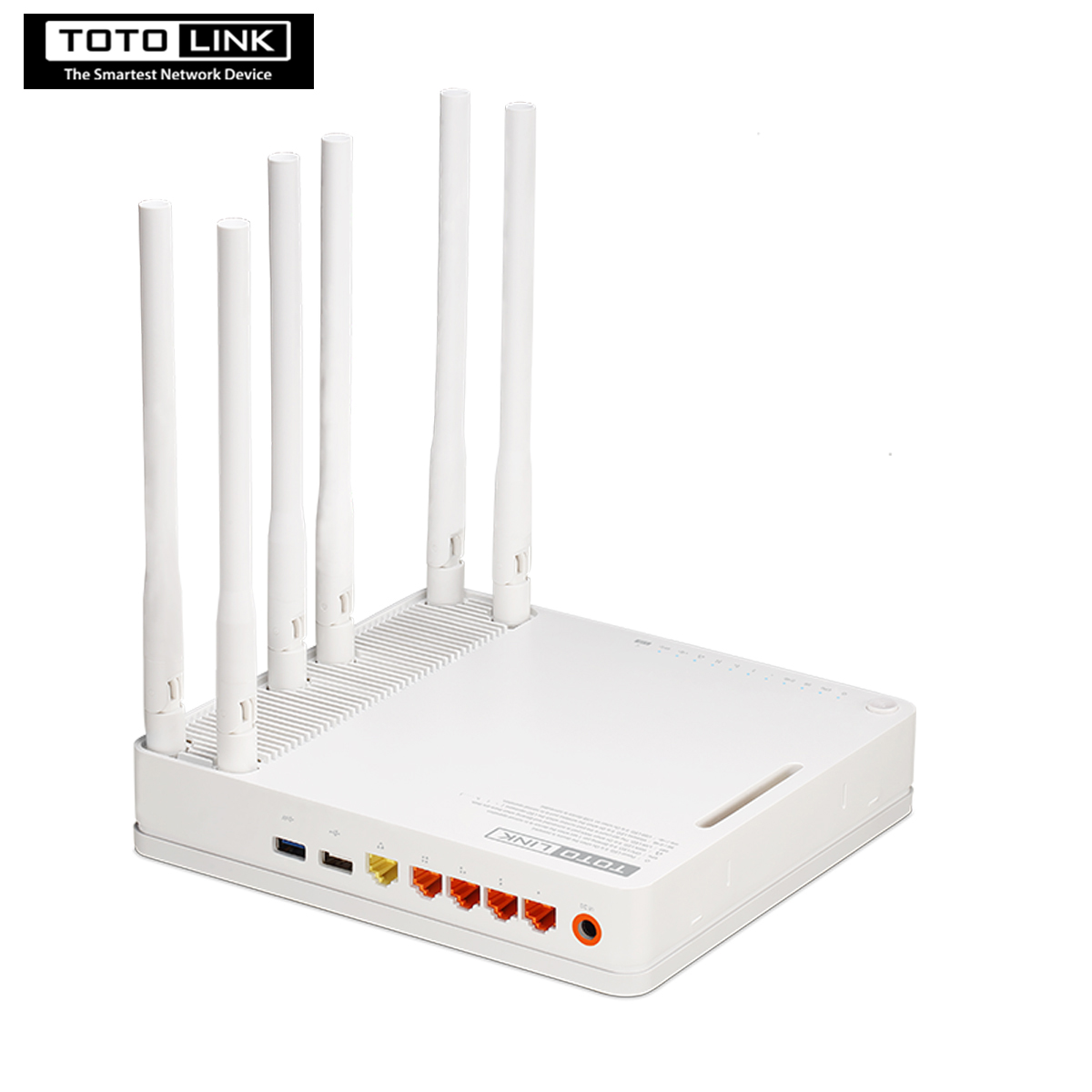 TOTOLINK A6004NS AC1900 Wireless Dual Band Gigabit Router With VPN Smart QOS Features English firmware Repeater