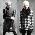 2017 autumn and winter Metrosexual warm coat woolen coat hair stylist Korean slim men P125