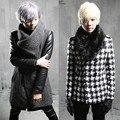 2017 outono e inverno Metrosexual casaco quente casaco de lã cabelo estilista Coreano slim homens P125