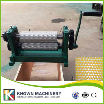 195/250/310*86mm Aluminum alloy manual beeswax foundation machine / embossing bee wax machine on hot sale  Воск