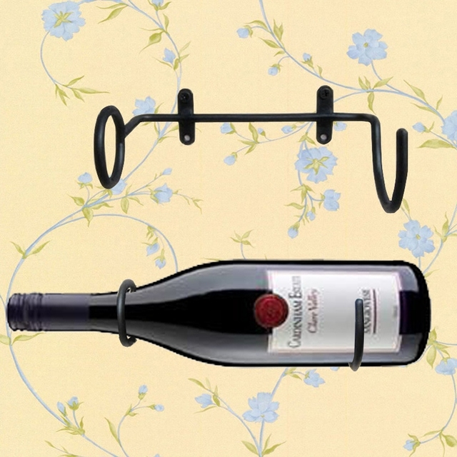 Aliexpresscom Buy Iron Wine Stand Wine Display Rack Bar Wall