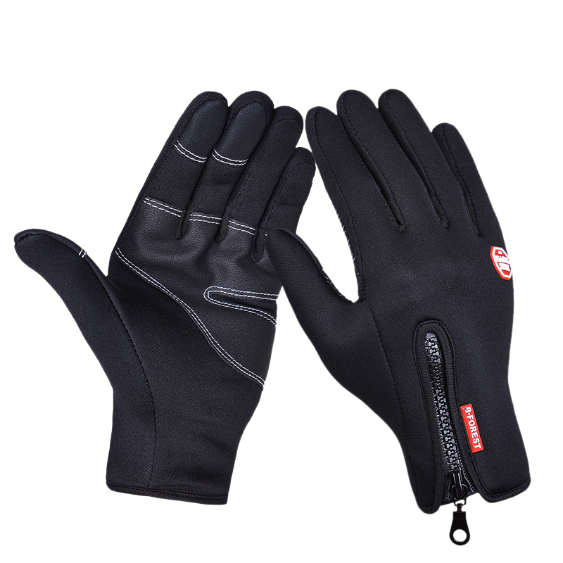Casual Gloves Men Women Warm Fleece Gloves Mobile Phone Touch Screen Gloves Outdoor Running Gloves