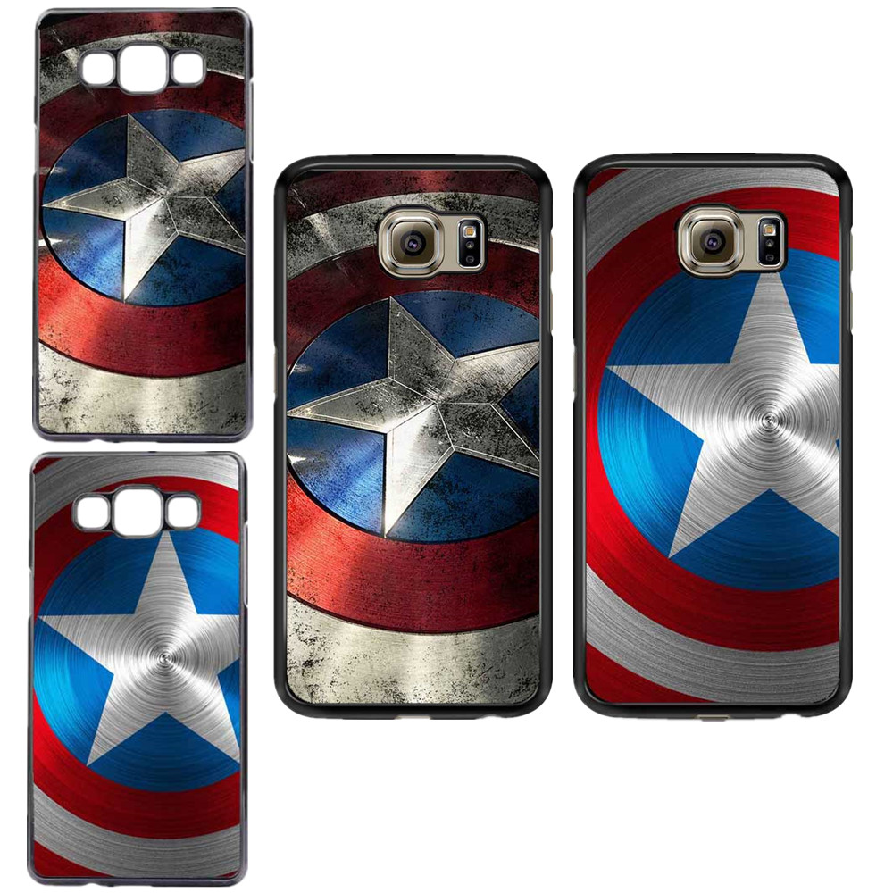 Marvel Comics Captain America Cover For Samsung Galaxy A3