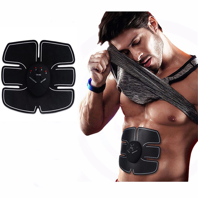 Wireless Electrical Muscle Stimulator Fitness Abdominal Training Device Massage Weight Loss Stickers Body Slimming Belt Relax