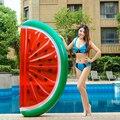 Арбузный надувной бассейн поплавок кольцо для плавания для взрослых женщин гигантский плавательный поплавок воздушный матрас буй пляжные ...