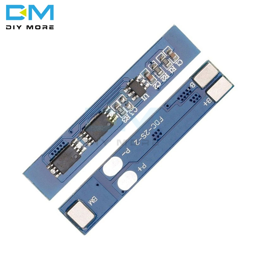 2S 3A 7.4 8.4V 2 Cell Pack Li-ion 18650 Lithium Lipo Battery BMS Board PCB Overcharge Overcurrent Short Circuit Protection