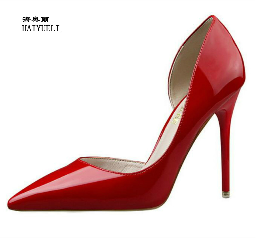 Women Pumps Fashion Sexy Thin Heel High-heeled Pointed Shoes Career Shoes Women Sandals