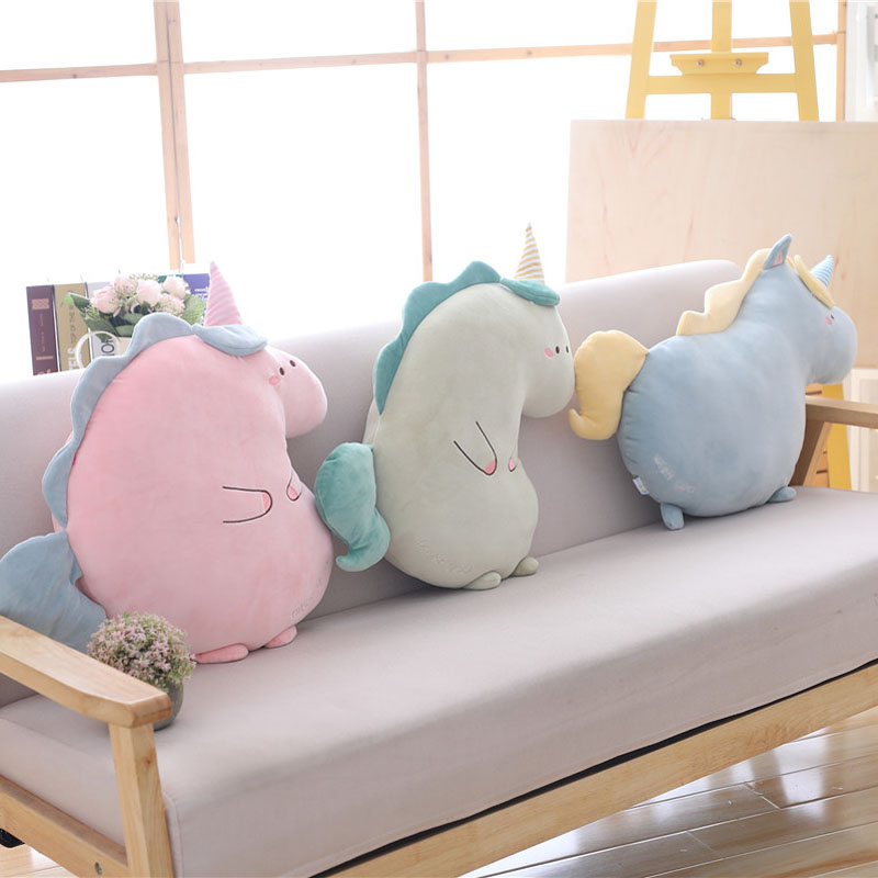 Nooer Soft Unicorn Plush Toy Stuffed Animals Unicorn Soft Pillow Cushion Unicornio Plush Doll Kids Girls Birthday Gift
