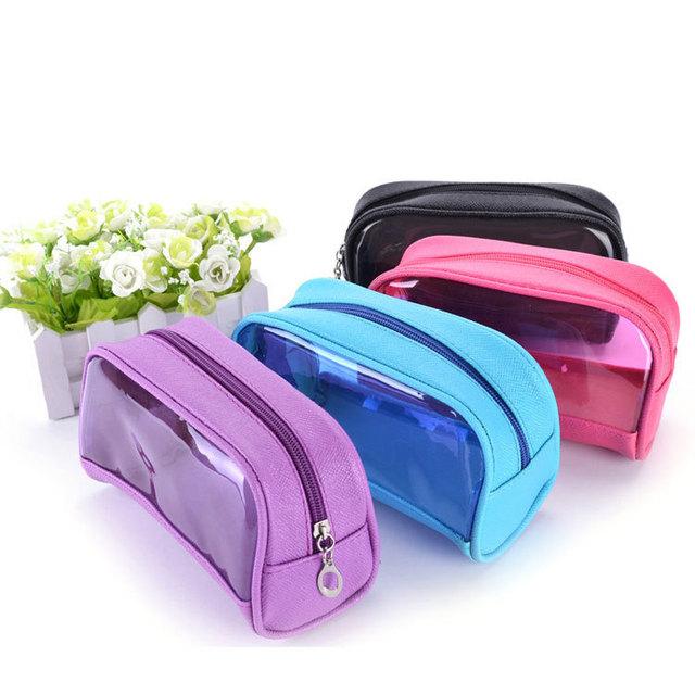 Delicado mini recorrido impermeable durable gran capacidad nuevo diseño bolsa de cosméticos a la venta