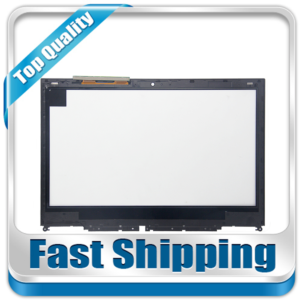 New For Toshiba Satellite Radius E45W-C4200X C-Series Replacement Touch Screen Digitizer with Frame 14-inch Black for new touch screen digitizer glass replacement toshiba satellite p55t p50t s50t m50t 15 6 inch black free shipping