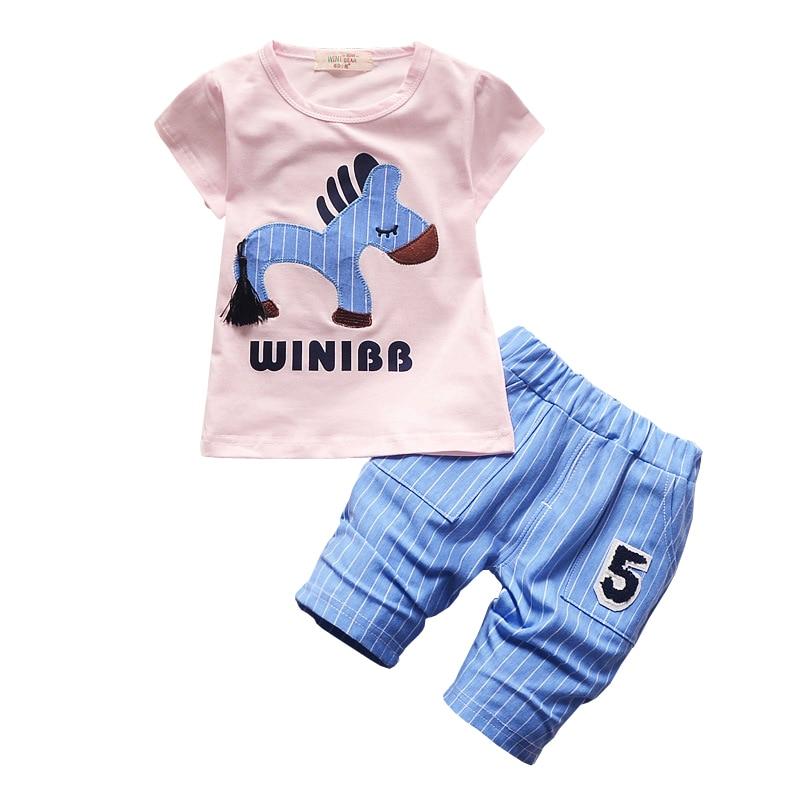 f527f16f99fd7 2017 Infantile Vêtements Enfant Enfants D été Bébé Garçons D ...