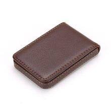Бумажник OCARDIAN для кредитных карт, модный кожаный мужской вертикальный кожаный вместительный деловой держатель M14