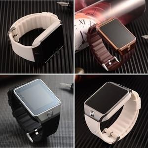 Image 5 - Bluetooth akıllı saat erkek spor Smartwatch DZ09 Android telefon görüşmesi Relogio 2G GSM SIM TF kart kamera için telefon PK GT08 A1