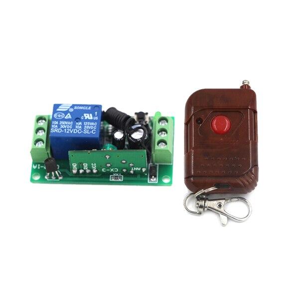 Mini Access Control System Remote Control Opener Garage Door Gateway Entrance Door Electronic Lock 1Transmitter 1Receiver New