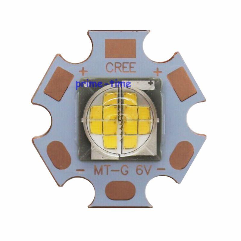 Cree MT-G MTG LED Warm White 3000K 24w DC36V Or 6V LED Light for spot light on 20MM star PCB