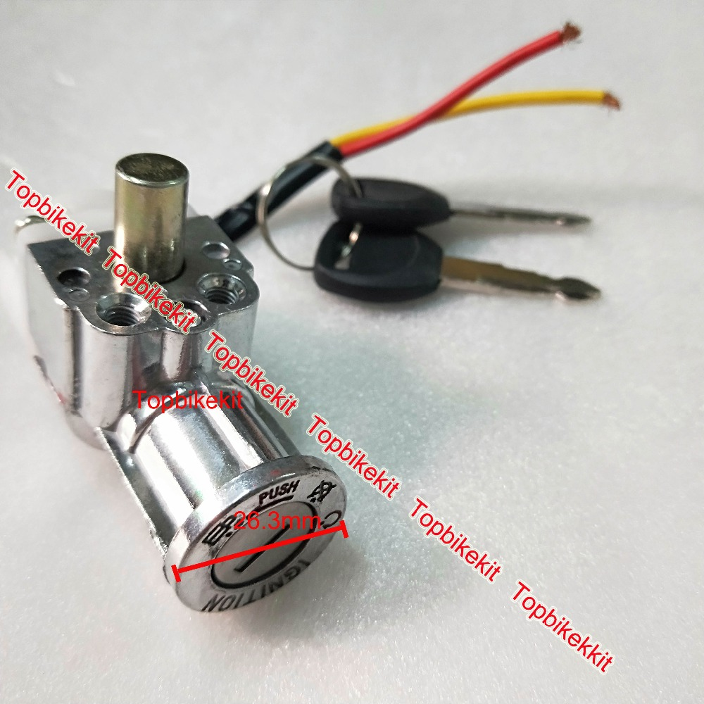 Power Ignition for Ebike li-ion battery case 05 Ebike Battery case Lock /& Key