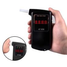 Алкогольно-респираторная трубка, алкотестер Professional Полиция цифровой дыхание быстрый ответ Алкотестер ЖК дисплей для пьяных водителей CDEN