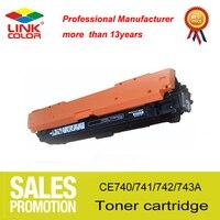 307A 307 CE740A CE741A CE742A CE743A CNLINKCLR için Uyumlu Lazer Toner Kartuşu HP Renkli Laserjet CP5225/CP5225n/CP5225dn