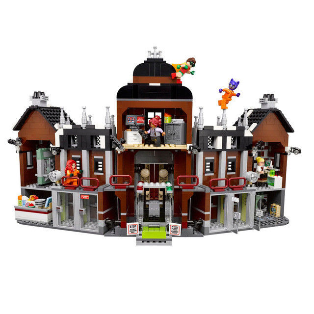 [Yamala] 1628pcs super heroes movie blocks Arkham Asylum Toys Building Blocks Bricks Compatible Legoingly Toys gift for children a toy a dream new decool 7124 genuine series marvel batman movie arkham asylum building blocks bricks toys with
