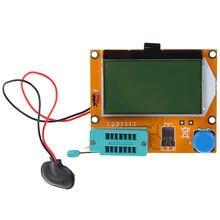1 sztuk Tester próbnik elektroniczny cyfrowy V2.68 ESR-T4 dioda trioda pojemność dla MOS/PNP/NPN LCR 12864 ekran LCD Tester miernik parametru ESR