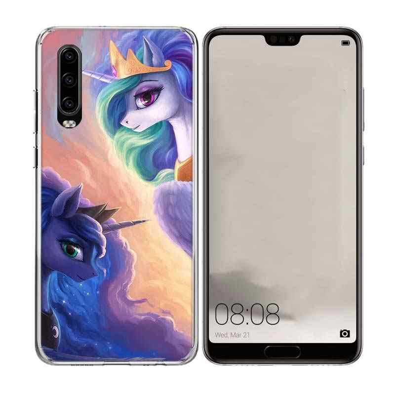 С рисунком из мультфильма «Мой Маленький Пони» специальный мягкий чехол для телефона для huawei Коврики 20 10 Pro Lite 20X S RS Y5 Y6 Y7 Y9 2019 Prime с рисунком по индивидуальному заказу чехлы