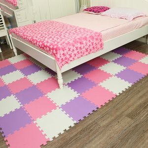 Image 3 - Meitoku baby EVA Foam Play Puzzle Mat/9pcs/lot Interlocking Exercise Tiles Floor Mat for Kid,Each 32cmX32cm