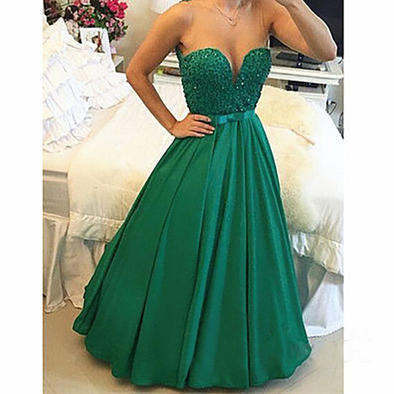 Online Buy Wholesale simple green prom dress from China simple ...