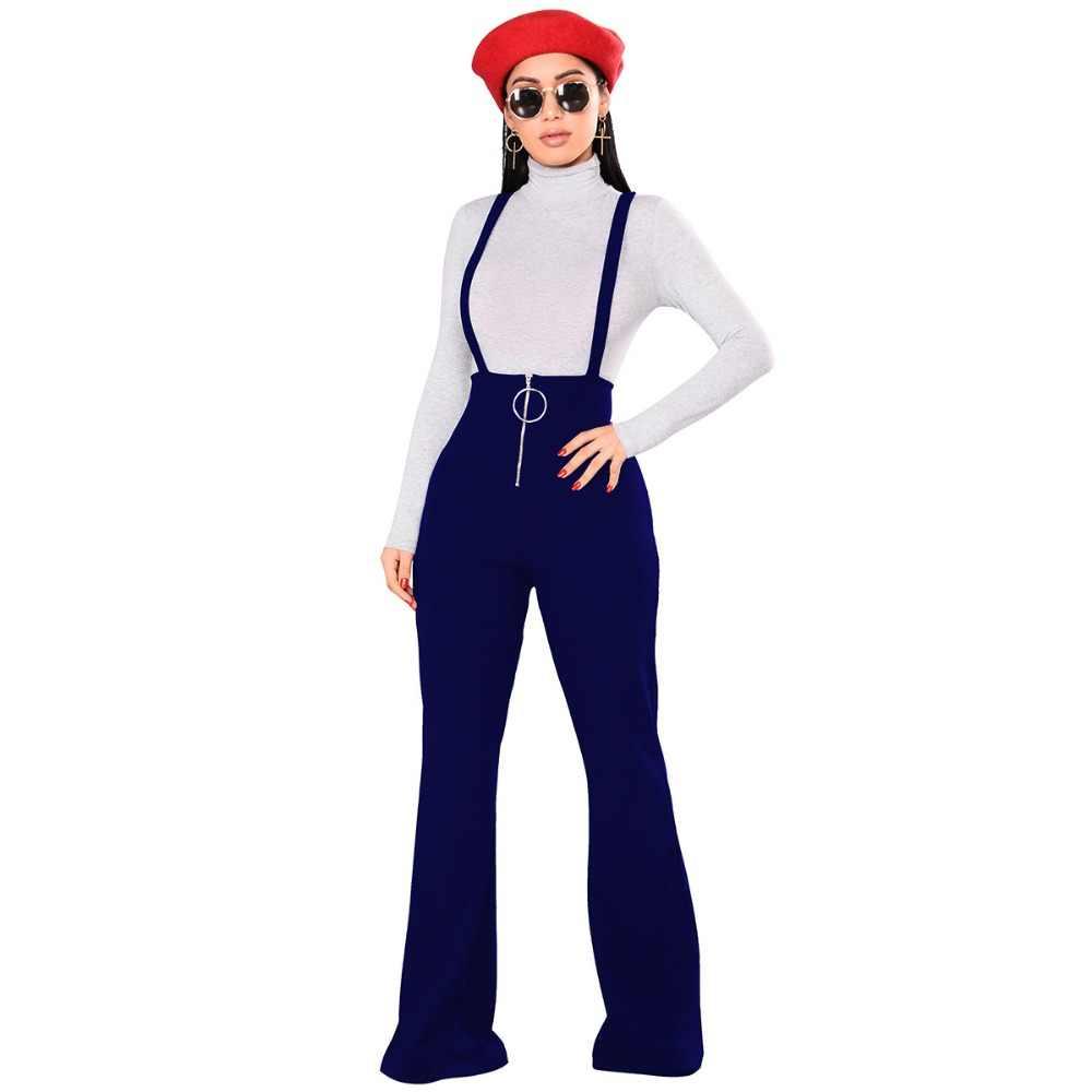 Vadim algodón de poliéster plana sólida None de la nueva llegada de la venta caliente pantalones Palazzo pantalones envío gratis 2019 otoño pantalones de cintura alta