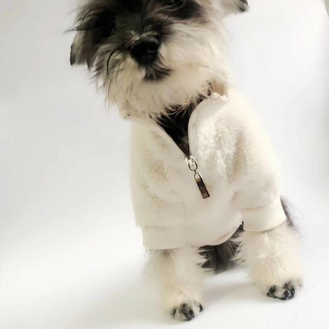Dog Fleece Sweater  1