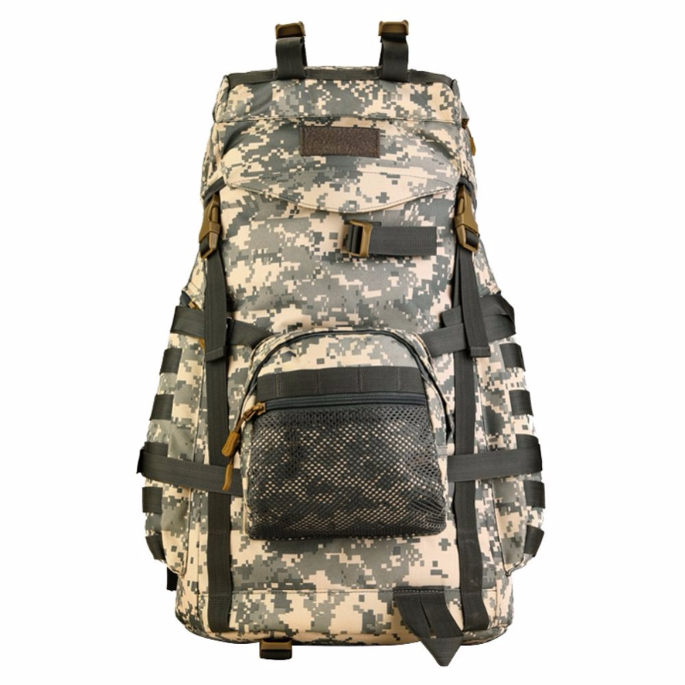 55l tactical military molle assault backpack pack large waterproof bag rucksack sport outdoor gear for hunting