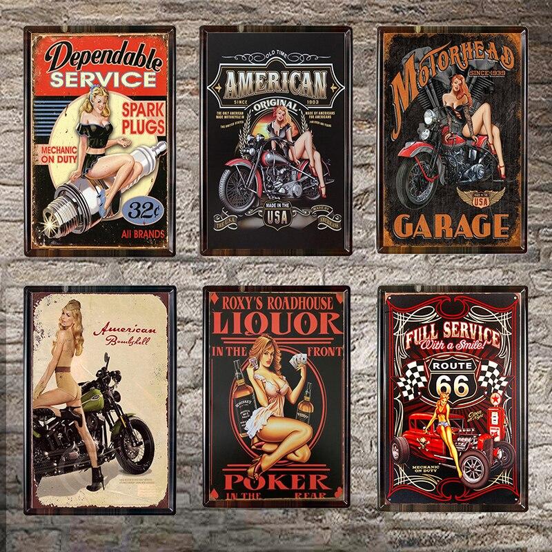 BETTY BOOP   Metal Signs Retro Pub Bar Vintage Garage