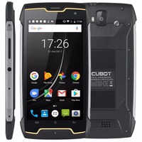 Cubot Kingkong IP68 Waterproof MT6580 Quad Core Cell Phone Android 7 0 Smartphone 2GB RAM 16GB