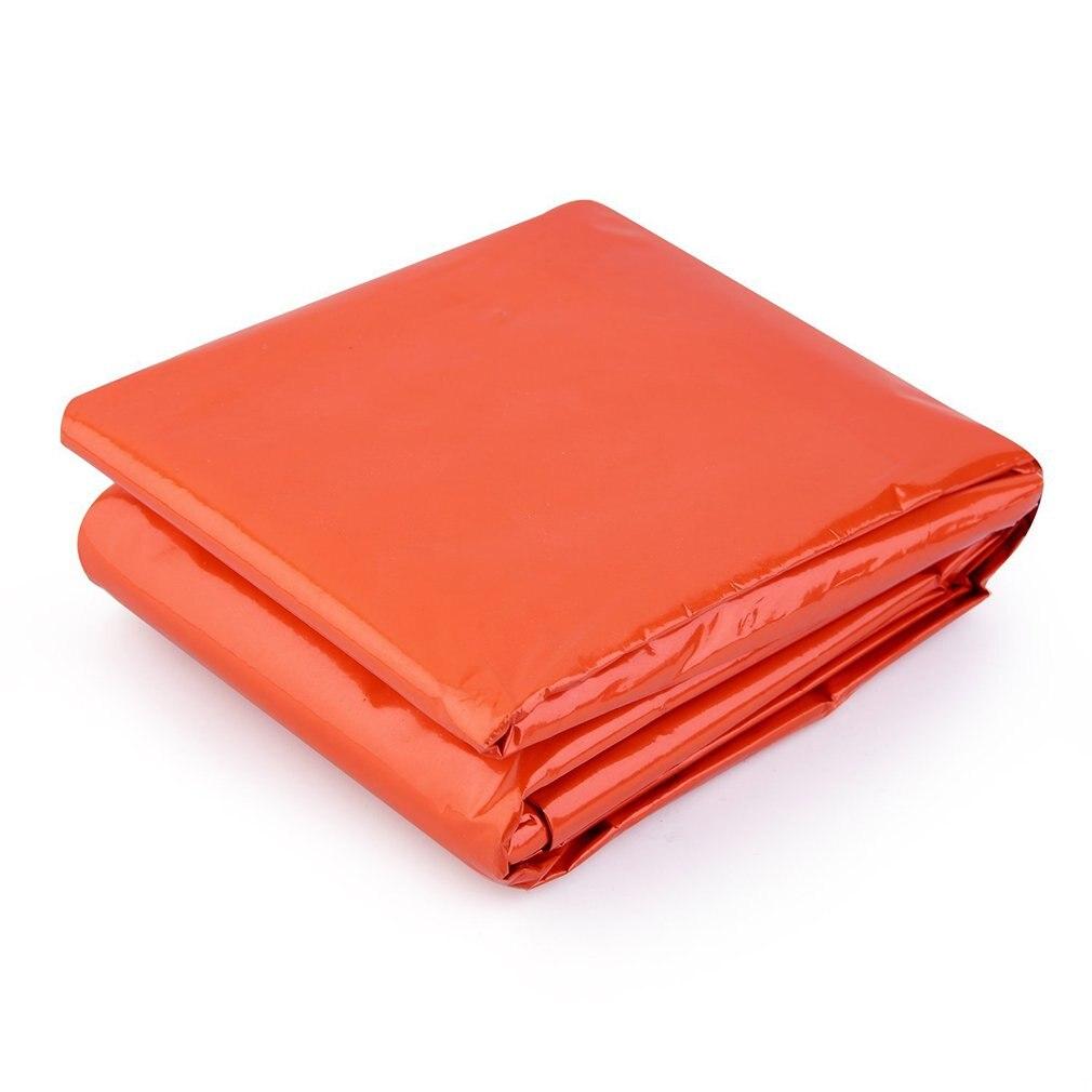 Outdoors Emergency Sleeping Bag Thermal Reflective Survival Orange Color BB55