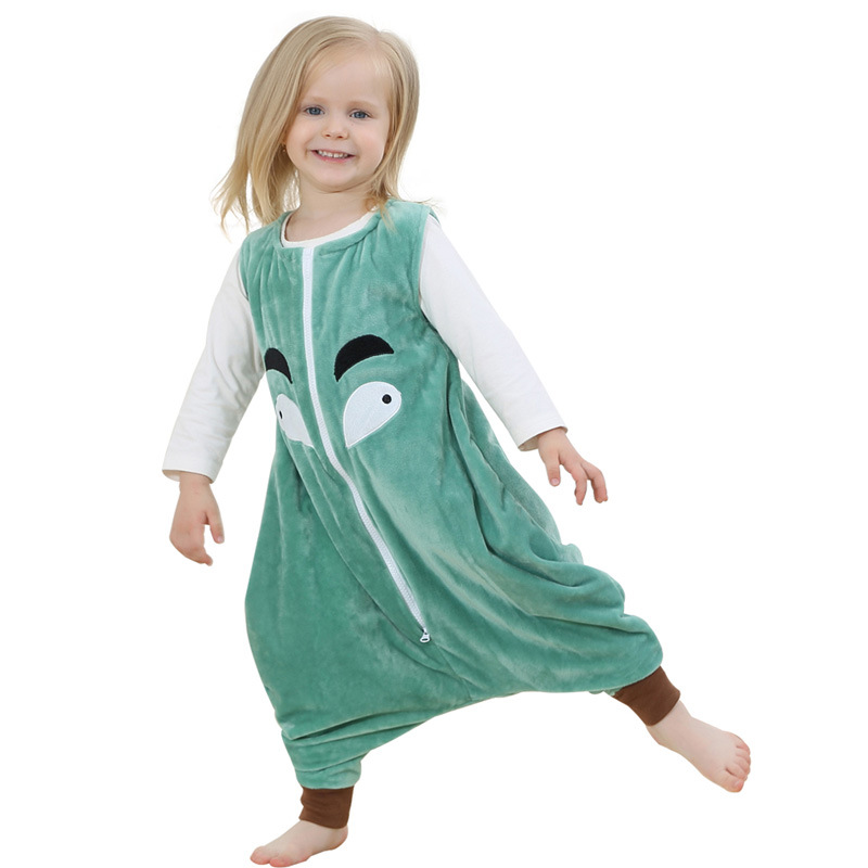 Kid Pajamas Overalls 1 6t Boys S Nightgown Toddler Sleeping Bag Autumn Baby Jumpsuit Flannel Cartoon Owl One Piece In Pajama Sets From Mother