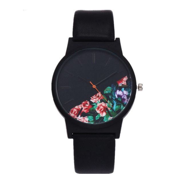 Unisex 2018 Watches Tropical Jungle Design Quartz Wristwatch for Men's Women's Creative Casual Sport Clock Hour Gift fashion tropical jungle design watch men women unisex unique quartz wrist watch for ladies creative sport men watches clock gift