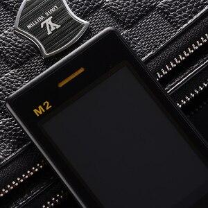 """Image 3 - Uomo di Vibrazione di Tocco Grande Schermo 3.0 """"Display di Affari Telefono Rapido Tasto SOS Corpo In Metallo di Alto Livello Non smart Mobile telefono cellulare M2 P302"""